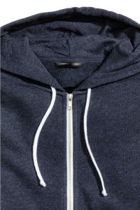 Mens Cotton 60%; Polyester 40% Hooded Jacket pictures & photos