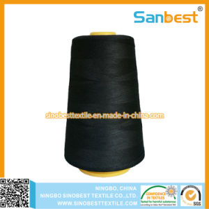 100% Spun Polyester Sewing Thread with Lubrication Accurate Length pictures & photos