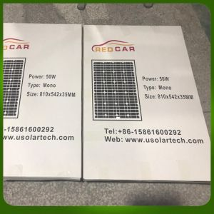 Ce/TUV 50W Solar Panels for Home System pictures & photos