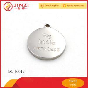 Factory Design Customize Zinc Alloy Laser Logo Baggage Dog Tag pictures & photos