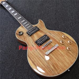 Pango Music Lp Custom Electric Guitar with Spalted Maple Top (PLC-036) pictures & photos