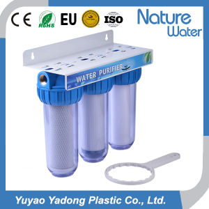 3 Stage Table Top Water Purifier with Steel Bracket pictures & photos