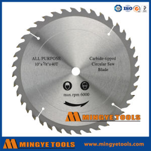 185mmx36tx20mm Multi-Purpose Steel Cutting Tct Saw Blade pictures & photos