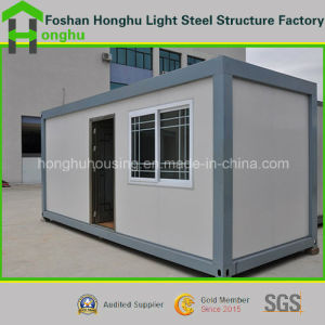 Sandwich Panel House 20ft Container House Container Living Homes pictures & photos
