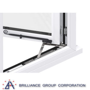 Aluminium/Aluminium Sliding Folding Balcony Window pictures & photos