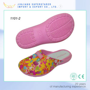 Latest Ladies Colgs EVA Slippers Casual Breathable Sandals pictures & photos