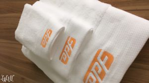 700GSM Premium Cotton Absorbency Towels Set For Hotel & Spa pictures & photos