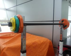 Adjustable Color Barbell Set (SA27) pictures & photos