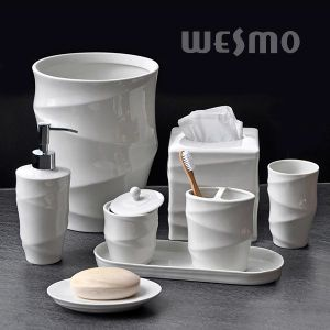 Artistic Porcelain Bathroom Set (WBC0877A) pictures & photos
