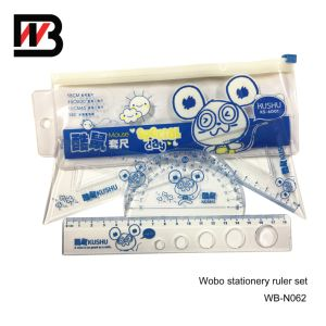 Blue Standarded 4 In1 Plastic Ruler Office Stationery pictures & photos