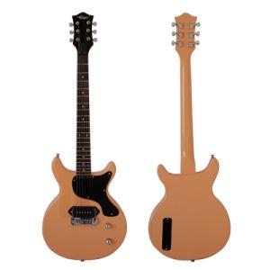 Wholesale Cheap Double Flat Junior Lp Electric Guitar pictures & photos