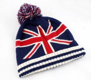 Knitted Hat POM POM Beanie Hat Jacquard Beanie Hat pictures & photos