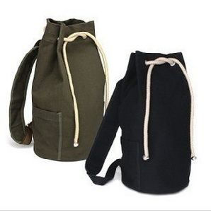 Canvas Drawstring Backpack (MS1161) pictures & photos