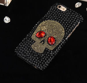 Skeleton Diamond Phone Case for iPhone 7 7plus 6 6plus 5 5s 5c Back Cover pictures & photos
