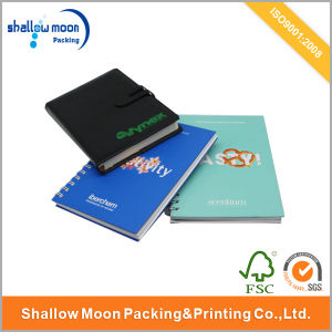 Personized Custom Notebook with Logo Printed Stamping (AZ122004) pictures & photos