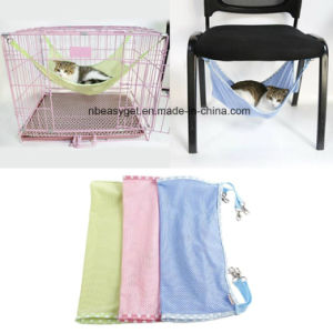Breathable Air Mesh Pet Cage Hammock Cat Bed Hammock for Summer Bed Pet Cage/Chair for Cats, Ferret, Rat, Chinchilla, Rabbit, Small Dogs pictures & photos
