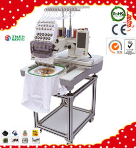 High Speed 3D Cap Embroidery Machine Single Head 15 Needles pictures & photos