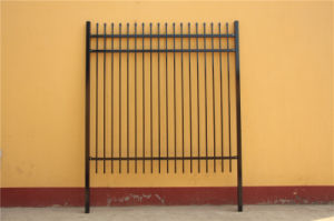 Black Powder Coated High Security Decorative Welded Ornamental Steel Fencing pictures & photos