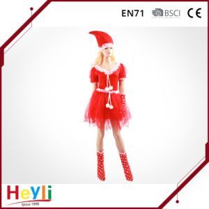 Factory Sale Nice Beauty Sexy Christmas Women Girls Party Dress pictures & photos