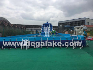 Steel Frame Inflatable Swimming Pool for Inflatable Water Park pictures & photos