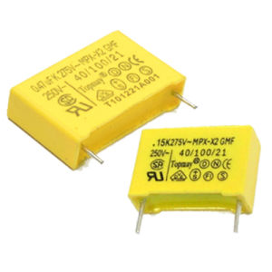 104k275V Metallized Polypropylene Film X2 Capacitor (TMCF18) pictures & photos