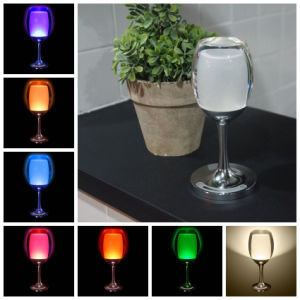 Colorful LED Cup Night Light for Bedroom/Living Room Decoration pictures & photos