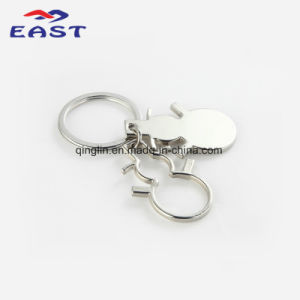 Creative Design Hollow Stars Decoration Zinc Alloy Key Ring pictures & photos