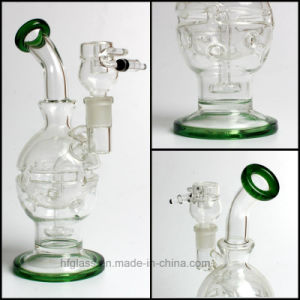 Hfy Glass Smoking Water Pipes Mothership Fab Egg Faberge Recycler Pipe pictures & photos