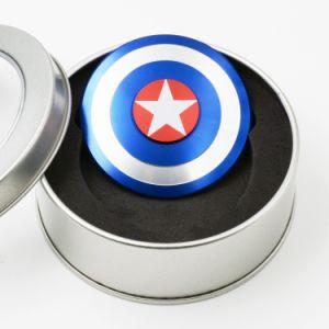 Round Captain America Finger Gyroscope Spinner Fidget Hand Spinner pictures & photos