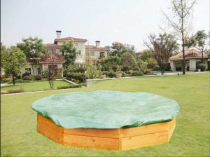 Children′s Octagonal Wooden Playhouse Sandbox for Kids pictures & photos