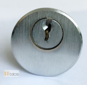 Euro Satin Chrom Rim Cylinder Lock pictures & photos