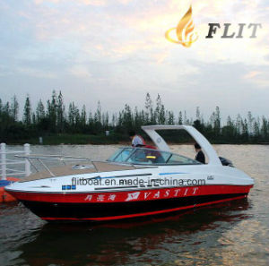 Flit Factory Price 12 Passengers Luxury Sport Boat Cabin Yacht pictures & photos