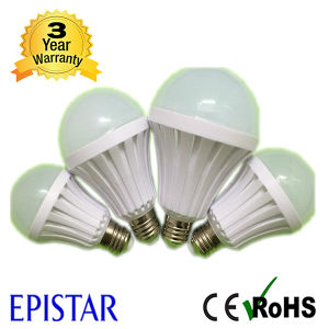 Built-in Rechargeable Battery 7W B22 Intelligent LED Emergency Bulb Light pictures & photos