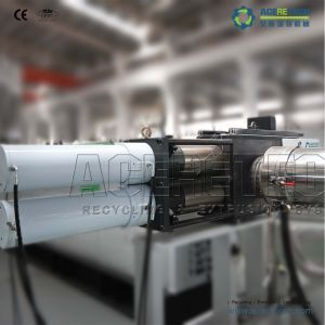 PP PE Flakes Recycling Machine with Water Ring Cutting pictures & photos