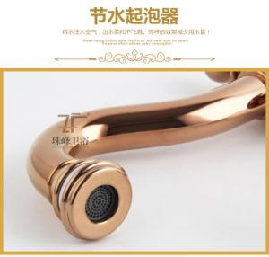 New Black Design Ceramic Basin Faucet (Zf-610) pictures & photos