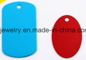 Animel Jewelry Uluminium Colorful Dog Tags for Pets pictures & photos
