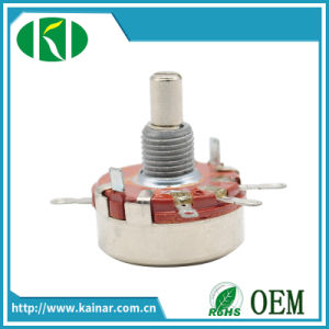 2W Rotary Carbon Film Potentiometer with Metal Shaft Wh118-1A pictures & photos