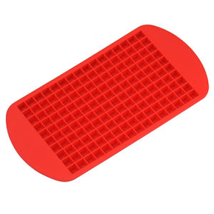 Eco-Friendly Food Grade 160 Cavity Silicone Ice Cube Tray Mini Ice Cubes Small Square Mold pictures & photos