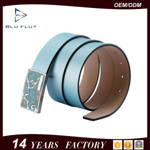 Top Grade Leather Belt Customized Logo Fashion Style Mens Waist Belts pictures & photos