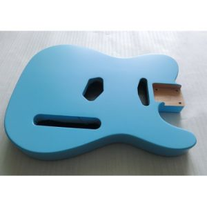 Custom Alder Tele Guitar Body in Nitro Finished Sonic Blue pictures & photos
