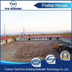 Light Steel Structure Frame Prefab Houses Building Made of Sandwich Panel pictures & photos