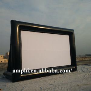OEM Advertising Outdoor Backyard Inflatable Movie Screen