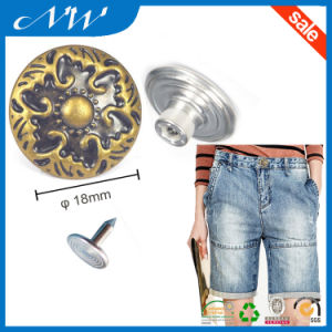 Customized Various of Shank Buttons for Jeans