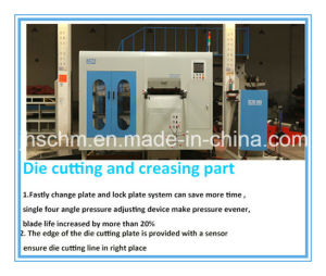 Automatic Creasing and Die Cutting Machine pictures & photos