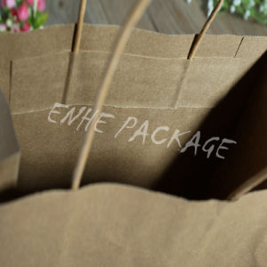 Kraft Paper Bag with Colorful Print for Clothes Packaging pictures & photos