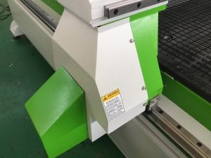 High Precision 1500*3000mm Wood Cutting Engraving 9kw Hsd Air Cooling Spindle Atc CNC Machine pictures & photos