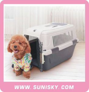 Plastic Dog Carrier Plastic Cat Carrier Pet Carrier Deluxe pictures & photos