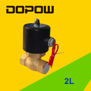 2L Series Solenoid Valve 2 Position 2 Way Normally Closed pictures & photos