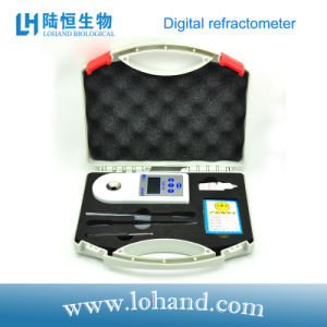 Portable Brix Refractometer Food Analyzer Lh-B55 pictures & photos