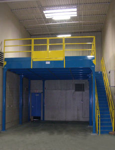 Steel Structure Plarform and Mezzanine Floor pictures & photos